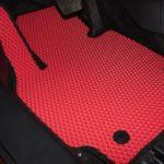 sarkani auto paklāji eva