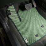 zaļi auto eva paklāji
