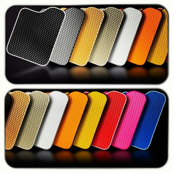 colorful car mats