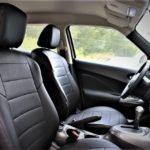 black premium leather nissan juke seat covers chehol.org
