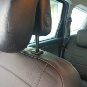 black leather custom fit seat covers for renault chehol.org