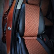 custom fit opel seat covers browm leather chehol.org