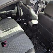 mitsubishi outlander custom seat covers grey leather chehol.org