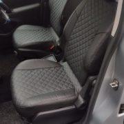 teepee custom seat covers black leather chehol.org