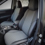 grey seat covers for mazda premium quality leather chehol.org