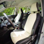 toyota rav4 custom seat covers white leather chehol.org