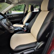 beige seat covers