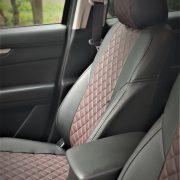 brown mazda custom seat covers premium quality leather chehol.org