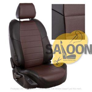 brown black seat covers