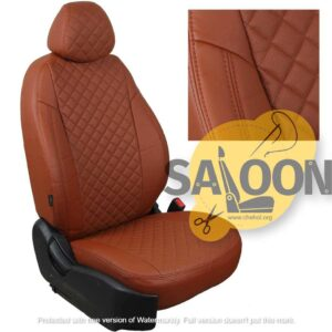 brown seat covers leather